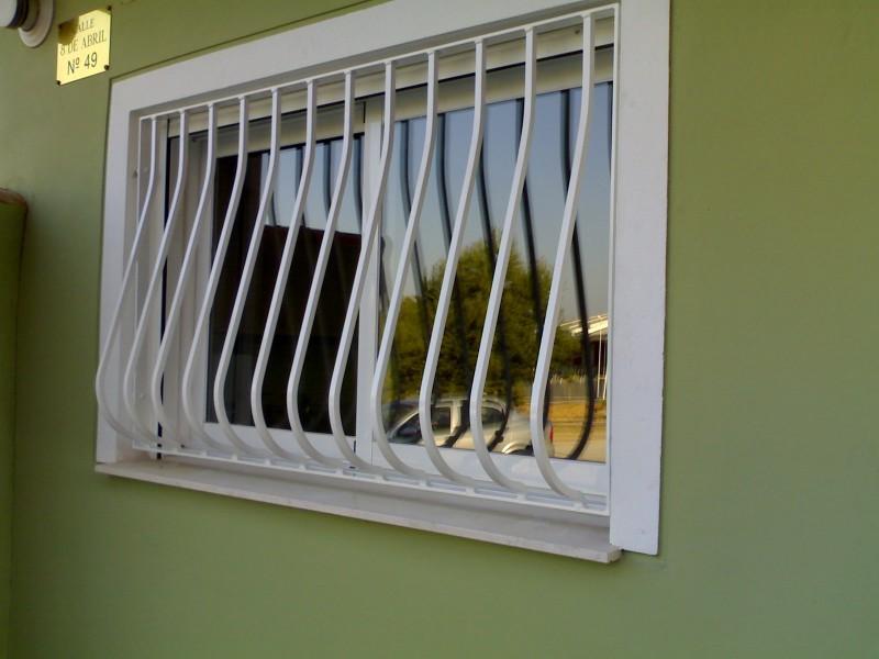 Modelos de ventanas rejas de forja modelo castellano reja for Modelos de puertas de fierro modernas